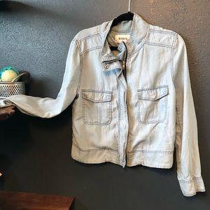 BB Dakota light denim baggy jean jacket